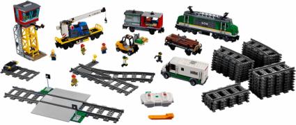Лего 60198 Грузовой поезд 2018