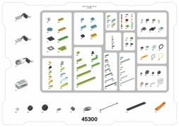 Комплектация лего 45300