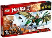 Купить конструктор LEGO Ninjago: 70593 The Green NRG Dragon в Москве. Доставка лего по России.