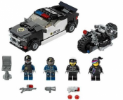 Лего 70819 - Преследование на машине злого копа