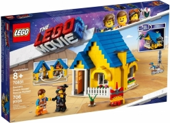 The LEGO® Movie 2 70831 Дом мечты / Спасательная ракета Эммета!