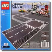 Lego 7280 Перекресток и прямой участок дороги из серии City Exclusive