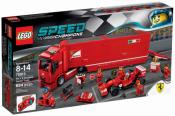 ЛЕГО 75913 - Феррари F14 и грузовик Скудериа Феррари Speed Champions