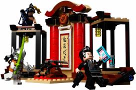 Лего Overwatch 75971 Ханцо против Гэндзи