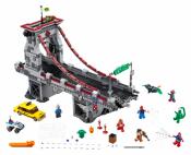 Лего 76057 Дуэль воинов с сетями на мосту