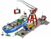 Лего 7994 Городской порт