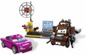 Лего Тачки 8424 — Шпионский Штаб Мэтра