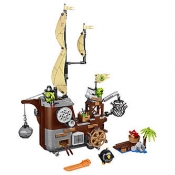 ЛЕГО 75825 Пиратский корабль свинок новинка Angry Birds