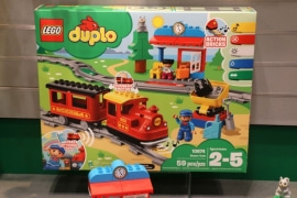 Лего 10874: Паровой поезд