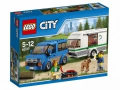 Фургон с домом на колесах (Lego 60117)