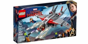 ЛЕГО Super Heroes 76127 Капитан Марвел и атака скруллов