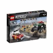 ЛЕГО Speed Champions 75894 Автомобили 1967 Mini Cooper S Rally и 2018 MINI John Cooper Works Buggy