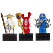 Лего Магниты 853404 Ниндзя го Sensei Wu, Fangpyre и Ninja Jay