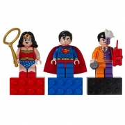 Лего Магниты 853432 Super Heroes™ Wonder Woman, Superman & Two-Face