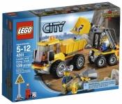 Лего 4201 Погрузчик и самосвал