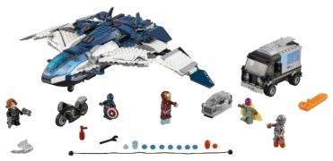 Лего 76032 Городская погоня на Квинджете Мстителей